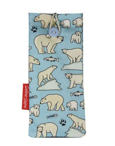 Selina-Jayne Polar Bear Limited Edition Designer Soft Glasses Case